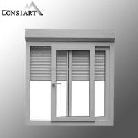 led aluminum profile extrusion for kitchen cabinet roller shutter door