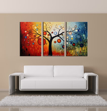 Modern Abstract Oil Paintings 3 Group