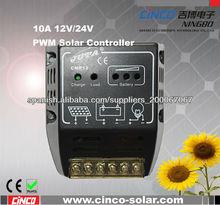 el más caliente PWM carga del panel solar del regulador 12V 10A