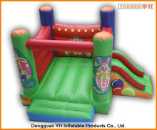 PVC coated oxford polyester home use mini inflatable bouncer