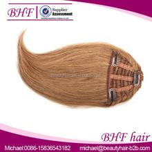 Xuchang Factory Customized Human Virgin Hair Fringes,Clip On Hair bangs,Front Pony Hair