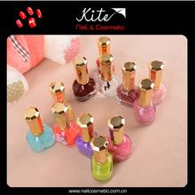 Custom colors nail polish OEM liquid nail art polish