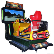 55inch LCD All Dynamic Post Apocalyptic Mayhem video racing game machine
