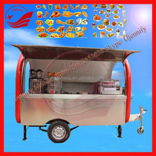 Snack And Beverage Application China Mobile Snack Cart For Sale