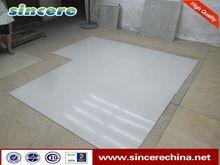 Foshan single loading polished porcelain floor soluble salt tile
