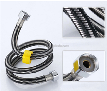 stainless steel wire Braided plumbing hose for toilet/bathroom/faucet