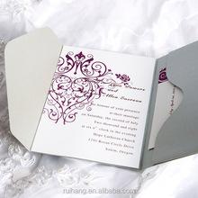 invitation pocket fold envelope