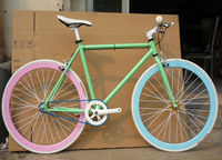 hot sales! strida bike folding bike/noctilucence fixed gear bike made in china