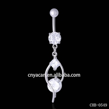 Surgical Steel 14g Belly Rings Custom Body Jewelry