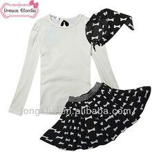 varios 2014 flor niñas vestidos de manga larga modelo nuevo vestido de la muchacha
