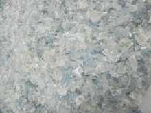 HOT WASHED CLEAR PET RECYCLED FLAKES