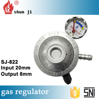 Best sale of products in alibaba made in zhejiang factory natural gas pressure regulator installation