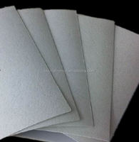 Non woven chemical sheet for shoe toe puff and back counter