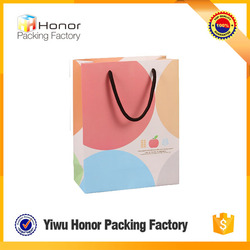 Custom printing logo strong cardboard top quality low price hot sale reusable paper shopping bags
