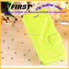 Colorful PU/leather flip cover for iphone 5g,mobile phone protective case