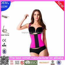 Factory Price Wholesale And Retail Underbust Latex Rubber Girdle