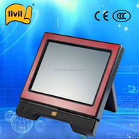 All in one retail restaurant touch screen pos system with card reader