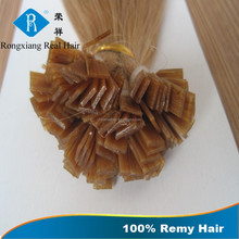 Double Drawn Hair 100% Remy Hair keratin hair extensions machine