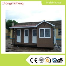 bamboo house/prefabricated house design China factory