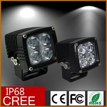 40 Watt 4WD LED Spotlight Floodlight Spot Flood Work Light for Vehicle Truck ATV SUV Jeep Boat OffRoad Tractor