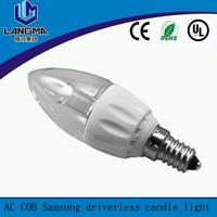 270 degree beam angle high CRI good lumens 4w led bulb light