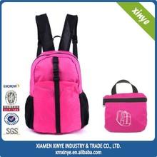 2015 promotion lightweight folding backpack