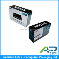 Electronic industrial use custom paper printed packaging box for computer accessories