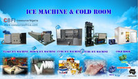 edible Tube ice machine for cafe resturant and cold drink bar