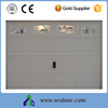 high quality residential insulated steel garage door from china factory