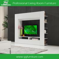 cheap tv wall unit design furniture mdf tv unit furniture SYG-001