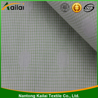100% cotton yarn dyed/dobby/plaid fabric