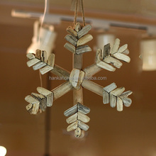 High Quality Driftwood Decoration Snowflakes Christmas Ornaments