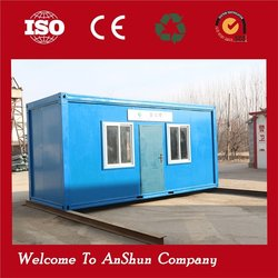 High Quality 20FT flat pack Sandwich Panel Expandable prefab container house side