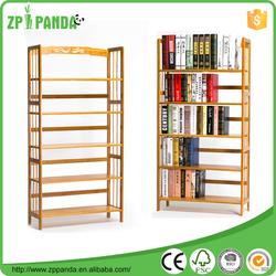 Cheap book store shelves / wooden books display stand Wood shelf Bookcases