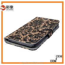 Alibaba Trade Assurance 2015 new Flip Case Luxury Leather Super Fabric Case For Samsung S4 Mini I9190/I9192/I9195/I919