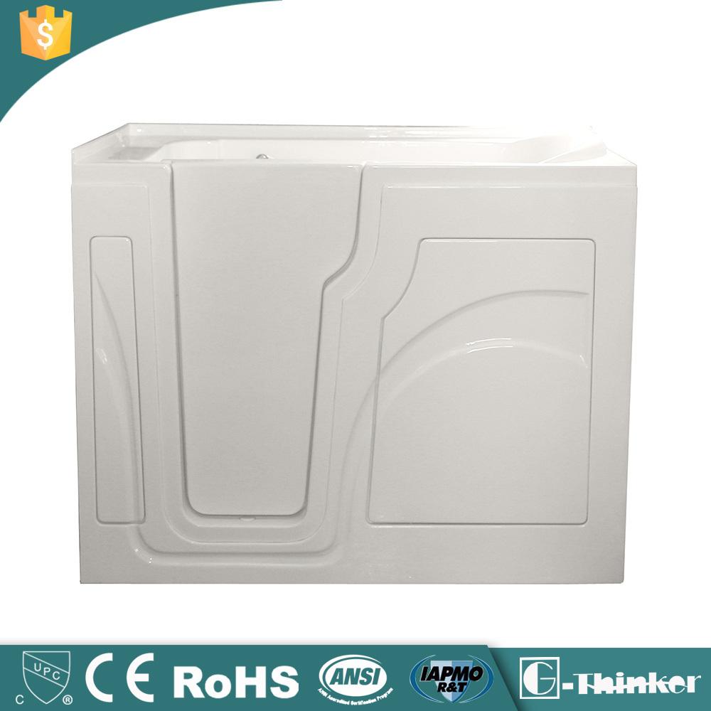 Portable Walk In Bathtub With Seat And Door Acrylic Walk In Tub Buy Walk In