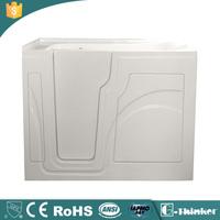 portable walk in bathtub with seat and door acrylic walk in tub