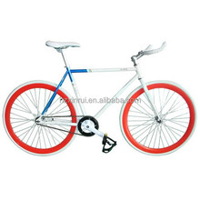 China manufacturer 700C full carbon bicycle fixie bike single speed fixed bike
