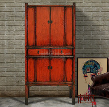 Chinese antique furniture wedding wardrobe