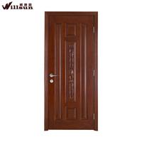 Flush Europe style swinging wooden door for cloakroom price