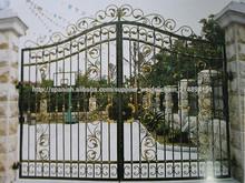 de hierro forjado puertas principales