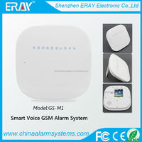 Hot-sold!!! smart voice burglar alarm control panel with 433/315MHZ(GSM Home Security)
