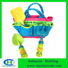 Kids Garden Tool Set with Tote children garden tool