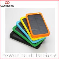 10PCS/lot shipping free by netherland post Solar Travel External Battery Power Bank 4000mah polymer solar power bank