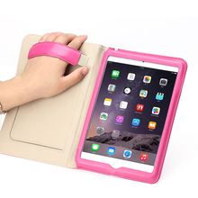 Auto Sleep Magnetic Leather Smart Stand Cover Case For iPad Mini 4