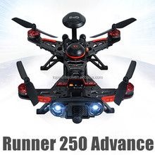 Latest DIY drone racer Runner 250 advance with HD camera FPV GPS direction warning lamp