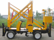 Electric mini boom lift small home lift