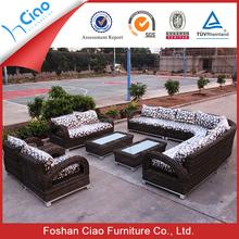 Regal garden or living room furniture big sofa set