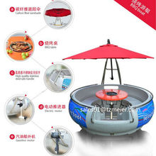 Brand new bbq donut leisure boat with CE certificate