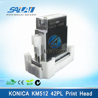 Best price!!!leopard A16 printer konica km512LN 42pl printhead